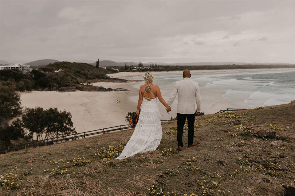 Tweed Coast Elopements - Hitched in Paradise - Cabarita Headland