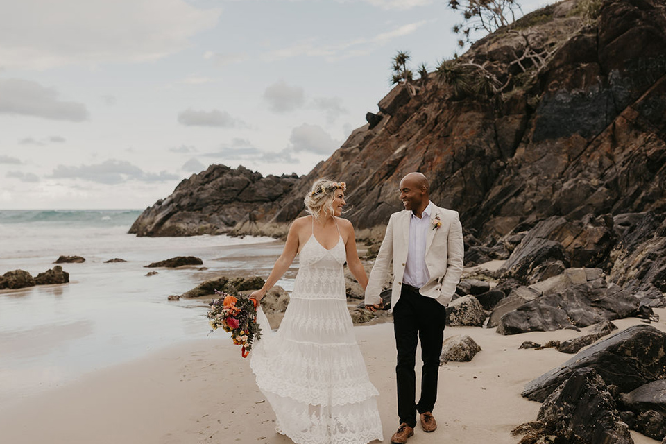 Tweed Coast Elopement - Hitched in Paradise - Cabarita Beach